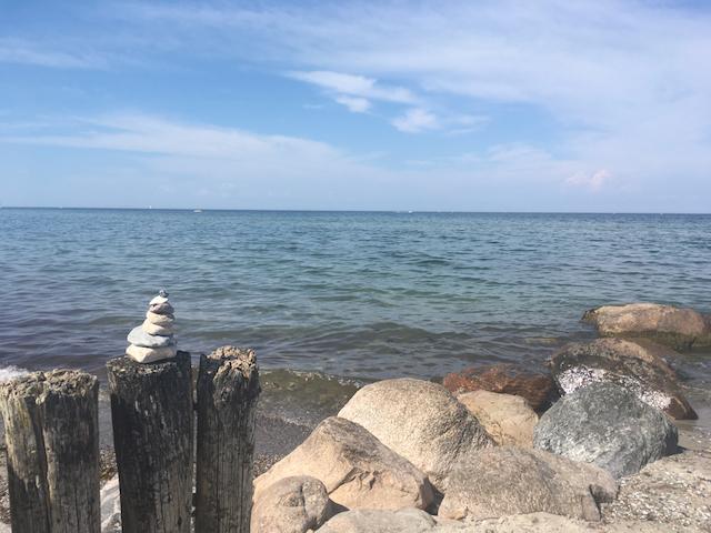 Besuch an der Ostsee