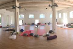 Der wunderbare Yoga-Raum